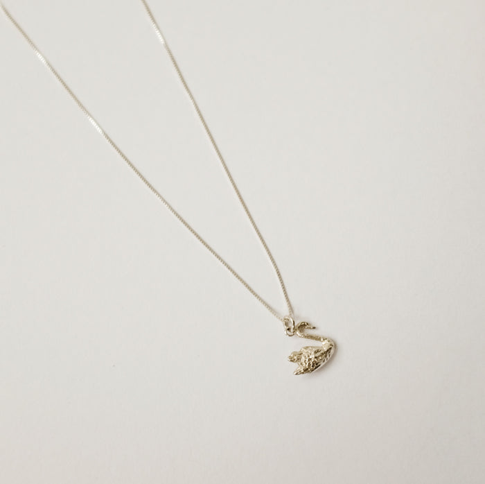 Eleventh House: Swan Necklace
