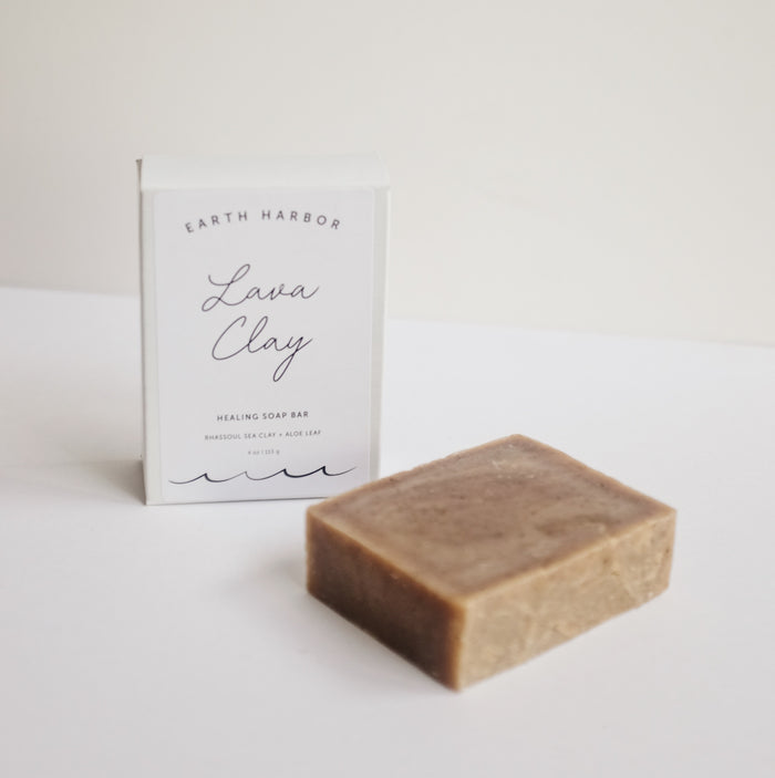 Lava Sea Clay Soap Bar