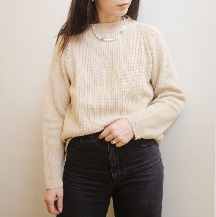 Vintage Minimal Knit Sweater