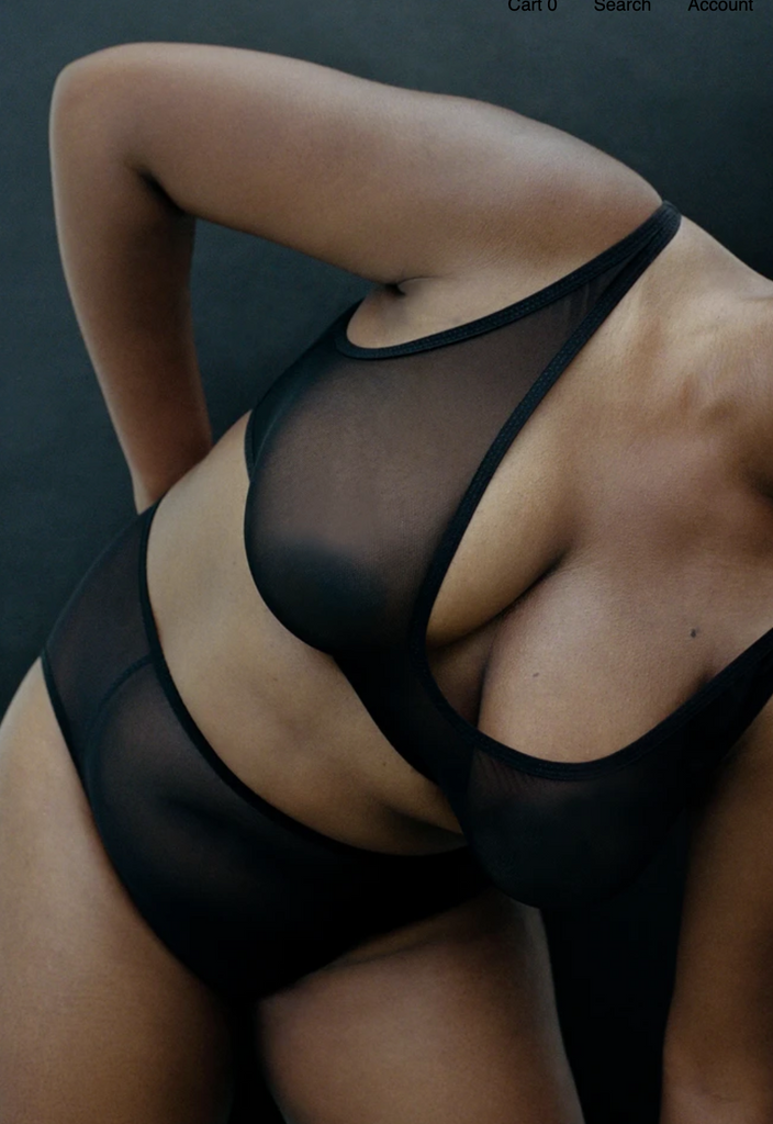 Kye Intimates: Ikebana Bra in Black