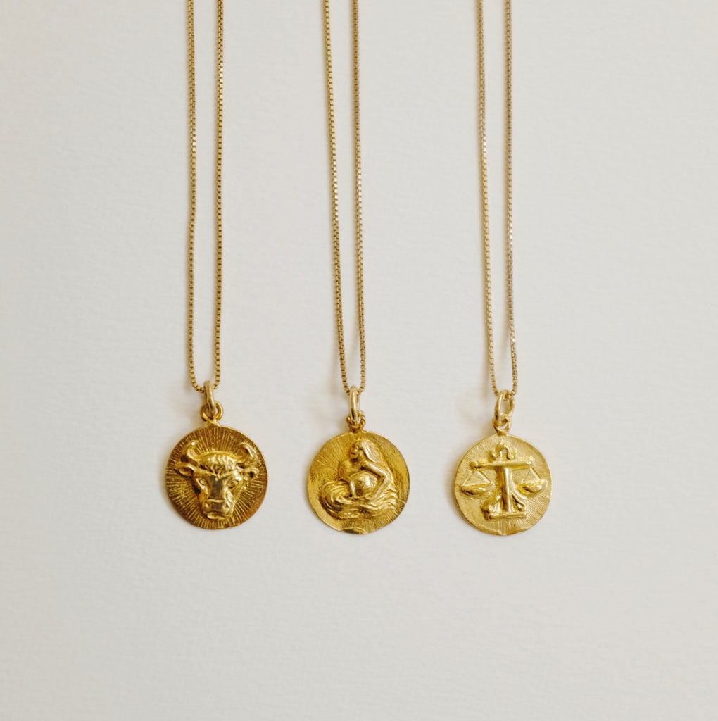 Eleventh House: Gold Zodiac Talisman