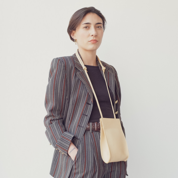 Hannah Emile: Droplet Crossbody in Butter