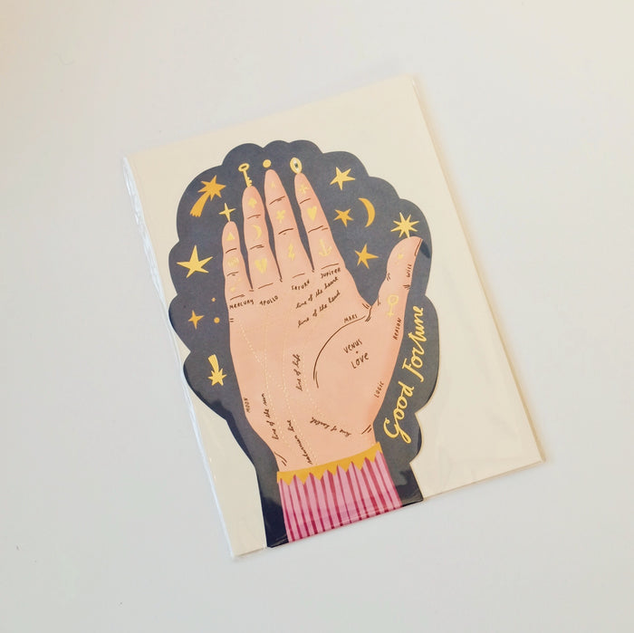 Palm Reading Card
