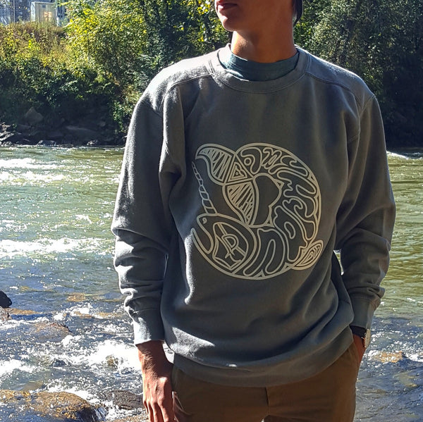 The Legacy Crewneck (Granite)