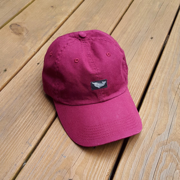Native Narwhal Traditional Hat (Burgundy)
