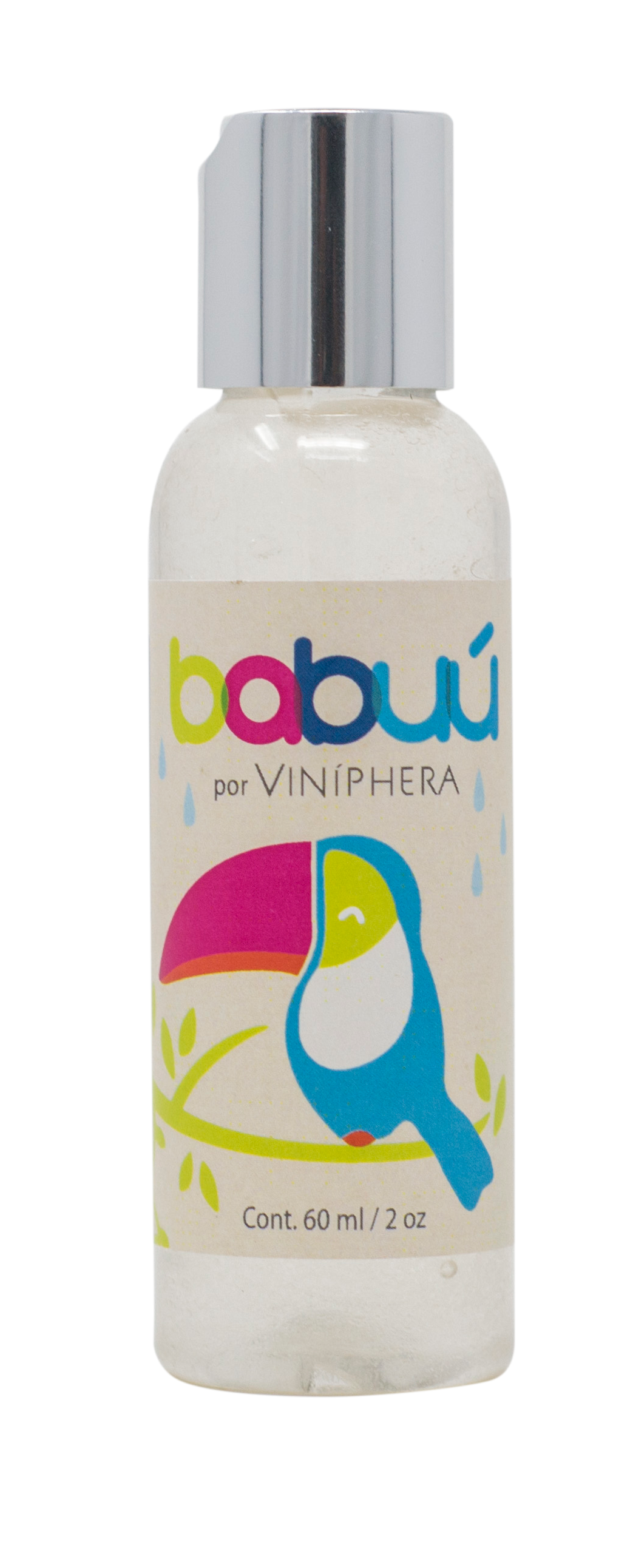 Gel Antibacterial de Babuu 60ml/2oz