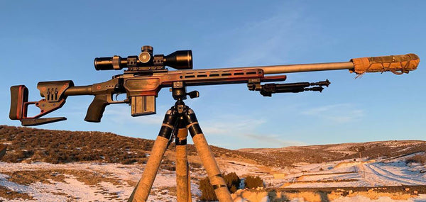 Collin Fossen's 2020 Precision Rifle Competition Rifle Build on the XLR Envy Pro bolt action rifle chassis