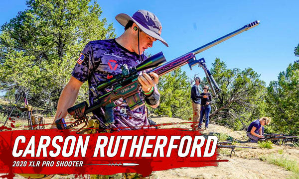 XLR Pro Shooter Carson Rutherford