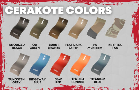 Cerakote Colors For Rifle Chassis