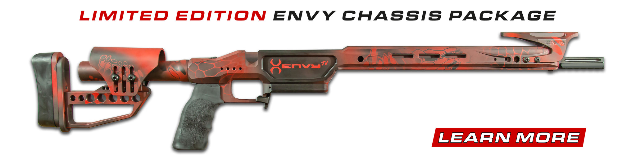 Limited Edition ENVY JV Heavy Fill Chassis Package