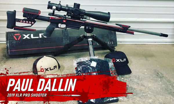 XLR Pro Shooter Paul Dallin