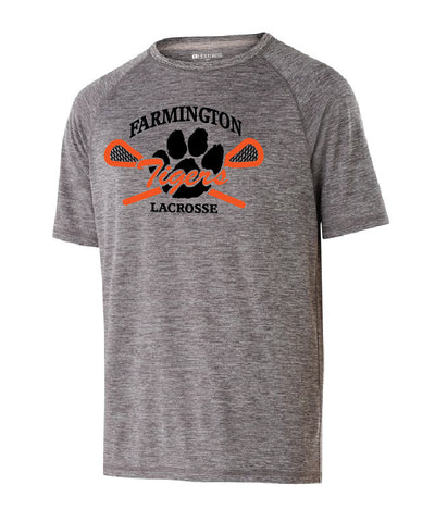 Farmington Lacrosse Short Sleeve Shirt (Grey) - Men's Ladies and Youth