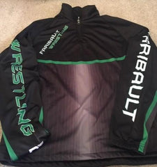 Faribault Wrestling Sublimated 1/4 zip Youth & Adult