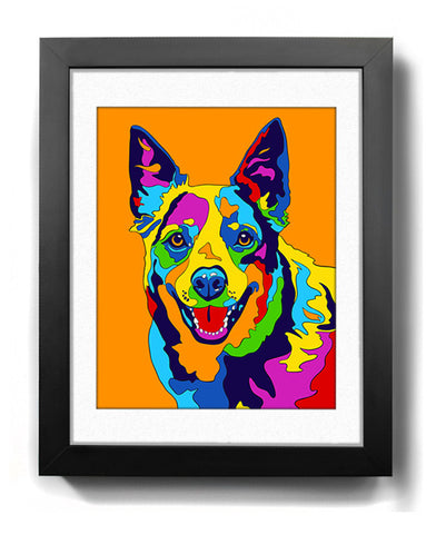 Australian Cattle Dog Art Print