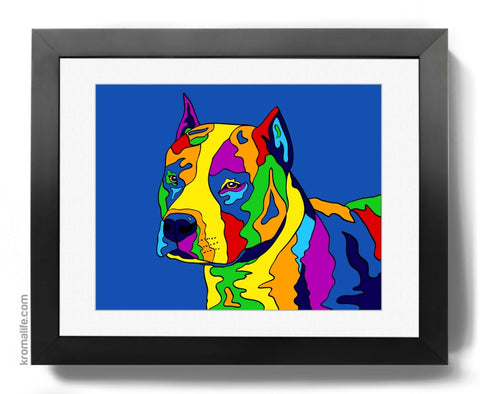 American Staffordshire Terrier Art Print