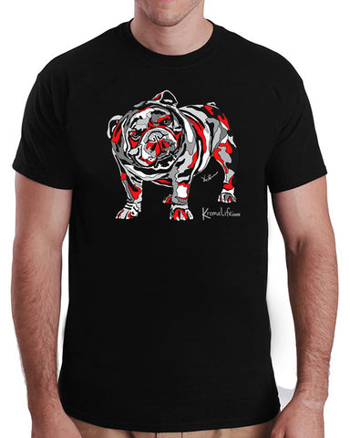 Mens English Bulldog Tee
