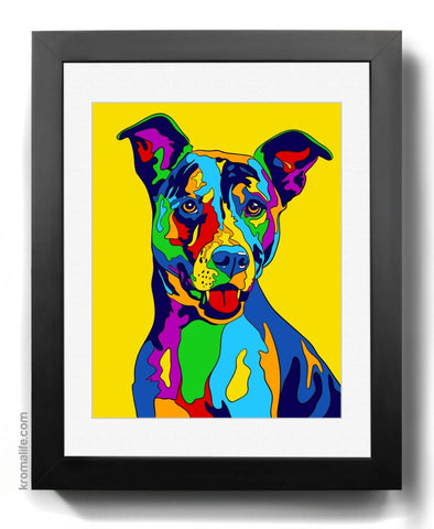 Mixed Breed I Art Print