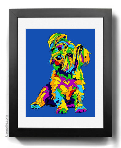 Mixed Breed II Art Print