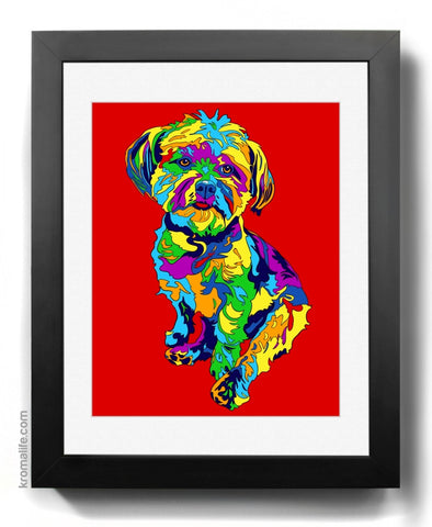 Mixed Breed III Art Print
