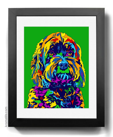 Mixed Breed IV Art Print