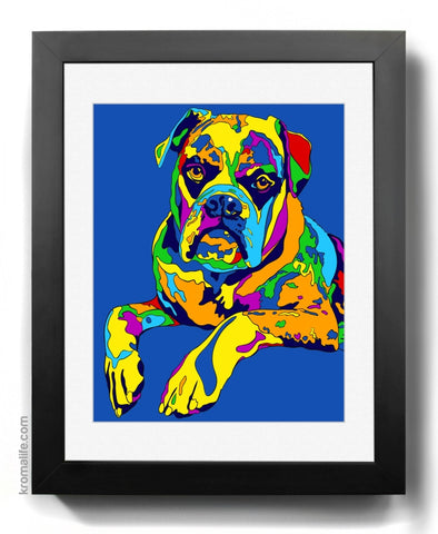 Mixed Breed V Art Print