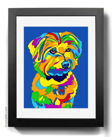 Mixed Breed VIII Art Print