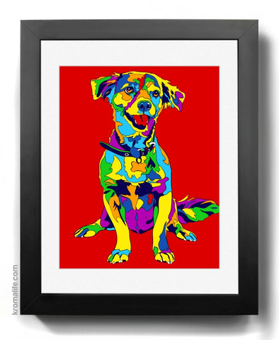 Mixed Breed VII Art Print