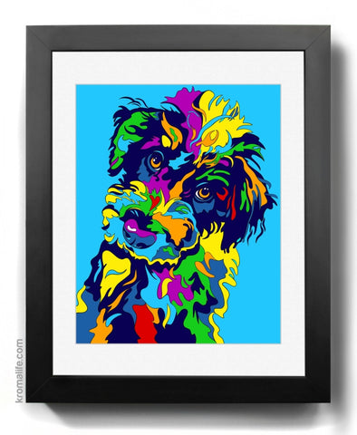 Mixed Breed IX Art Print