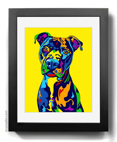 Mixed Breed VI Art Print