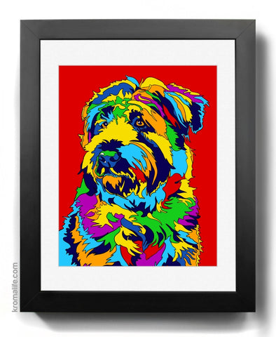 Wheaten Terrier Art Print