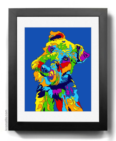 Welsh Terrier I Art Print