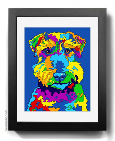 Welsh Terrier II Art Print
