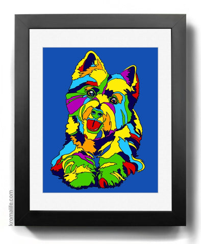 West Highland Terrier Art Print