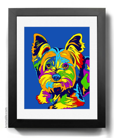 Yorkshire Terrier I Art Print