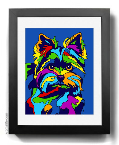 Yorkshire Terrier II Art Print