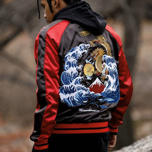 Amazing Dragon Bomber Jackets
