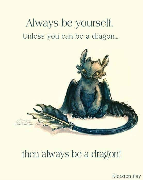 My Favorite Dragon Quotes