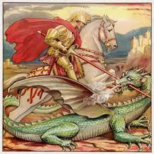 DT #44: Saint George & the DRAGON
