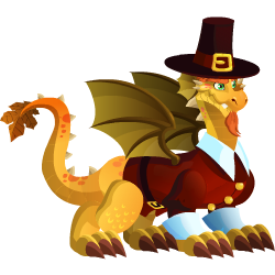 DGT #31: The Thanksgiving Dragon (Dragon City)
