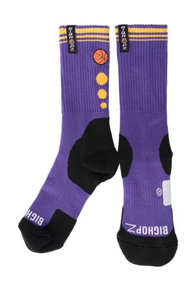Crew Socks - Purple