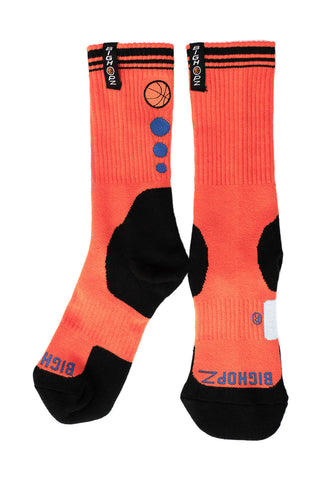 Crew Socks - Orange