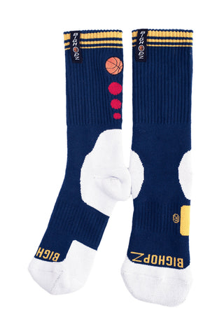 Crew Socks - Navy Blue