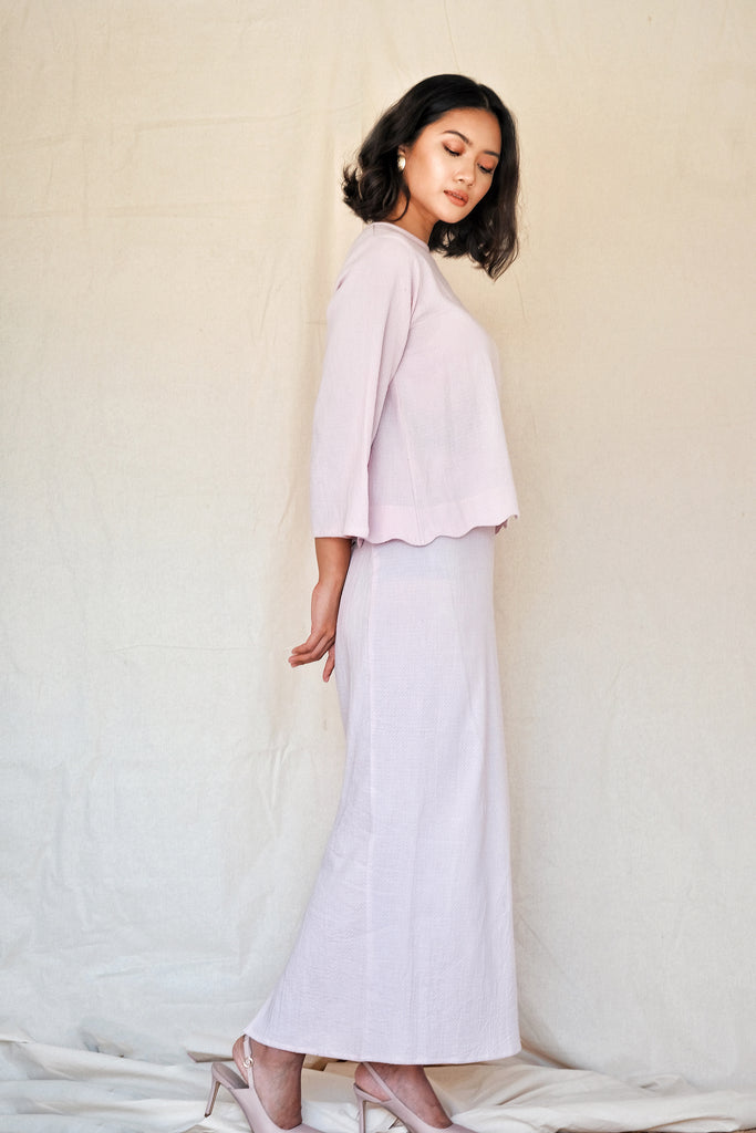 Dhia Mini Kurung | Blush