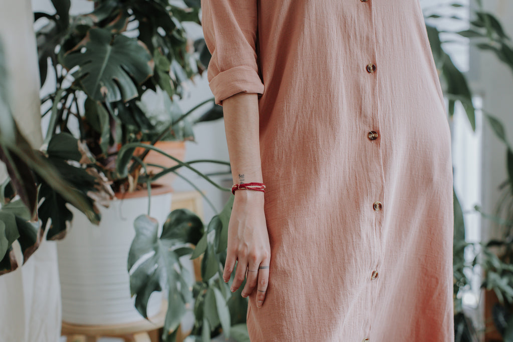 Diane Shirt Dress | Sand