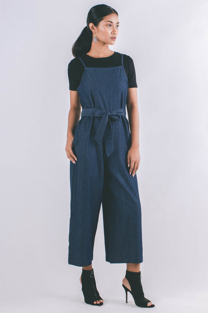 Kelsey Romper | Dark Denim