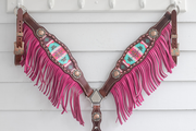 Adele Breastcollar / Tack Set  [ inlay design ]