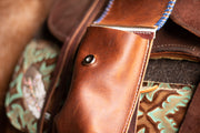 Livie Cinch Saddle Bag (whipstitch)