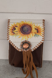 Morgan Cinch Saddle Bag (fringe version with whipstitch)