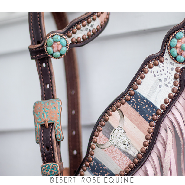 Quick Order- Emelia Tack Set with turquoise