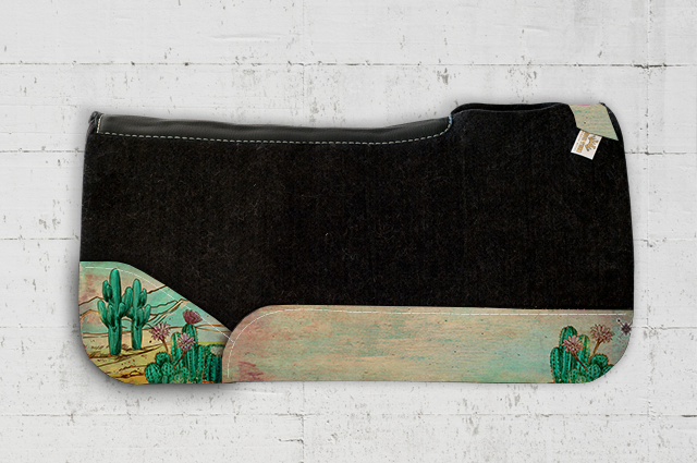 Kelly Cactus Saddle Pad